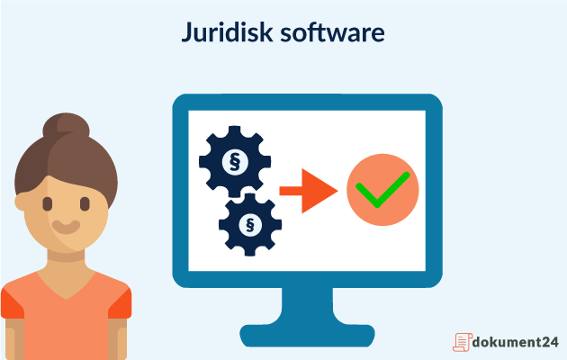 Juridisk software skabelon